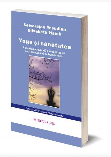 """Coperta 3D a cărții """"Yoga și sănătatea"""""""