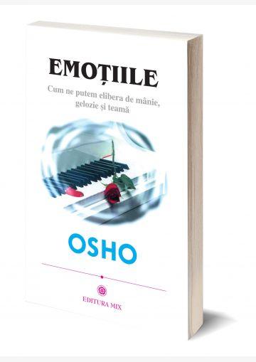 """Coperta 3D a cărții """"Emoțiile"""""""