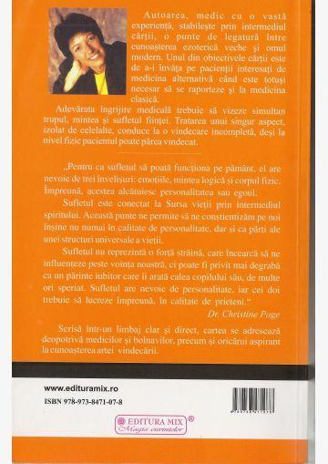 """Coperta 4 a cărții """"La frontierele sănatății"""""""