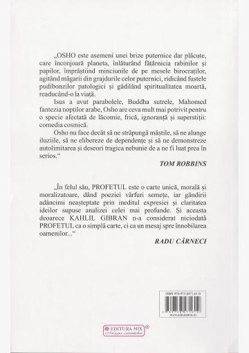 """Coperta 4 a cărții """"Mesia 1"""""""