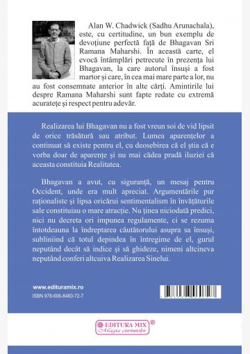 Coperta 4 a cărții Amintiri despre Ramana Maharshi