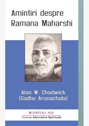 Coperta 1 a cărții Amintiri despre Ramana Maharshi